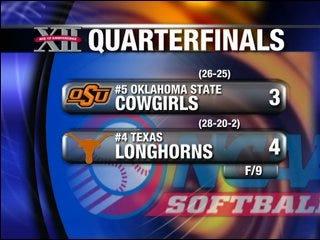 Texas defeats OSU in 9th inning