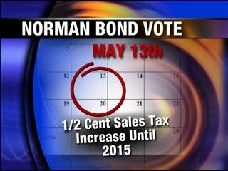 Norman voters to decide on bond issues