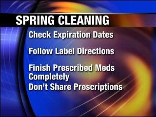 Spring clean your medicine cabinet