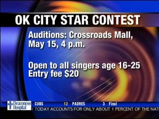 Oklahoma City Star Contest starts Thursday