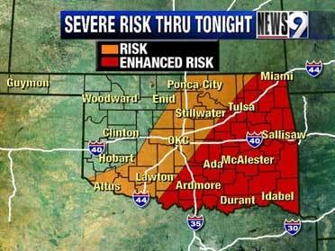 Tornado watch in effect until 9 p.m.
