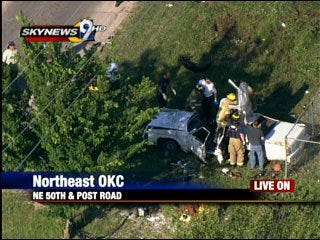 One fatality in wreck northeast of metro
