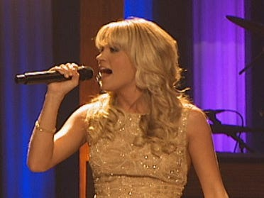Carrie Underwood inducted into Grand Ole Opry