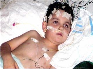 Child lives through ten-day coma