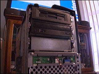 State computer sold containing identities of thousands