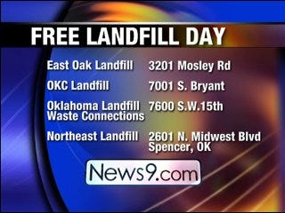 OKC offers free landfill day