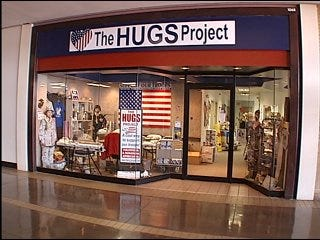 The HUGS Project helps troops