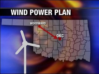 Wind power could supply Oklahoma in 2010