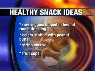 Summer snacks and lunches for healthy kids