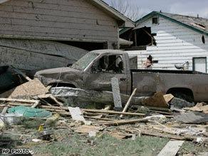 Tornadoes tear through Kansas; Colorado assessing damage