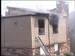 OKC apartment complex erupts in flames