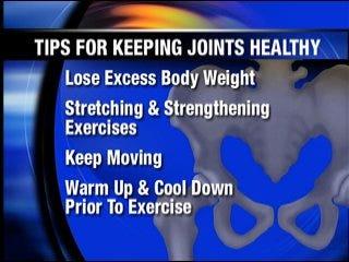 Tips to ease arthritis