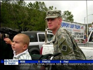 Soldiers bound for Iraq
