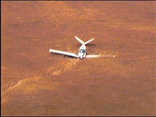 Plane makes emergency landing in Canadian County