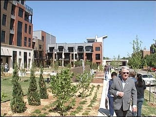 Residents 'move up' to downtown