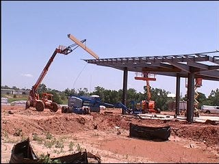 American Indian Cultural Center construction underway