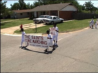 Neighbors organize event to stop local violence