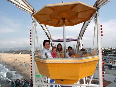 Santa Monica's Ferris wheel Oklahoma-bound