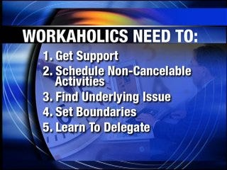 How to avoid being a workaholic