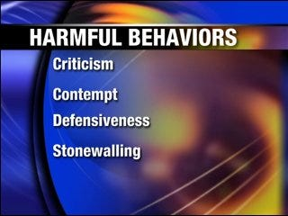 Bad behavior may affect your marriage
