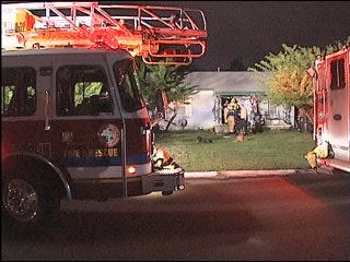 Midwest City man saves neighbor from fire