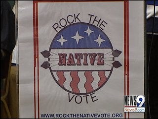 Native Americans hope to rock Oklahoma's vote