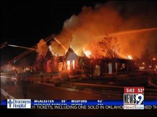 Firefighters investigate suspicious blazes
