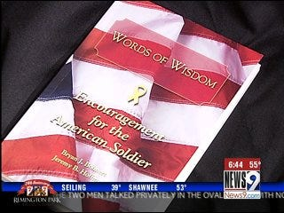 Book project honors soldiers