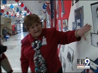 Del City middle school recognizes veterans