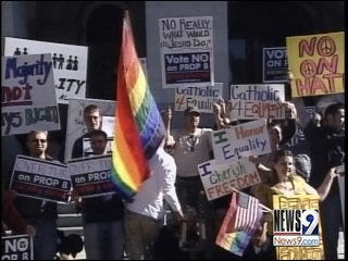 Gay marriage rally set for Saturday