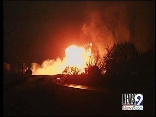 Town Shaken by Pipeline Explosion