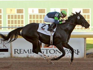 Sharp performances were common throughout Quadruple Stakes Sunday at Remington Park