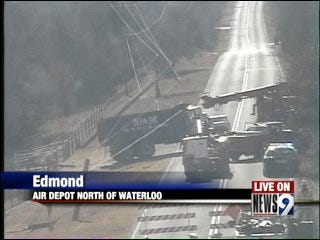 Downed Power Lines Close Edmond Road