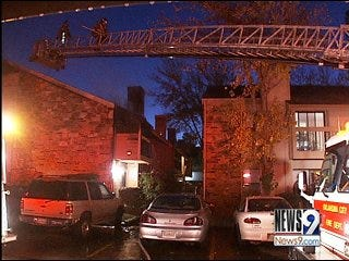Fire Damages Apartments in NW OKC