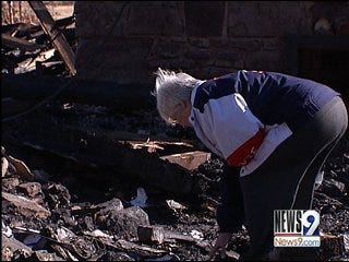 Grandmother of 5 Devastated by House Fire