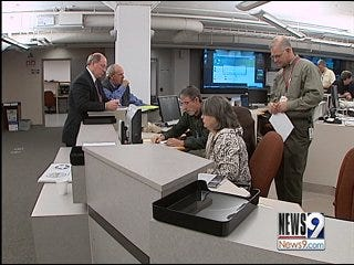 Emergency Officials Begin Ice Storm Preparations