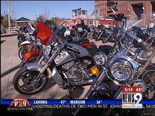Harley Fans Head to Bricktown