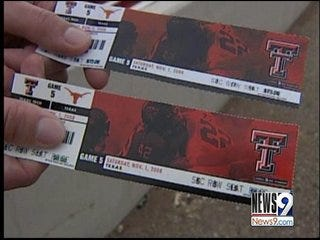Norman Police: Be Aware of Counterfeit Football Tickets