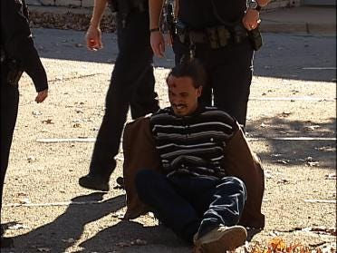 Foot Chase Ends with Arrest