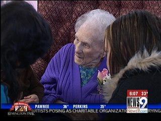 Wynnewood Woman Turns 104