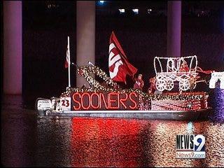Annual Parade Floats Down Oklahoma River