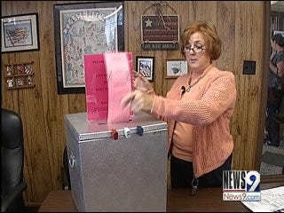 Ballot boxes make a comeback