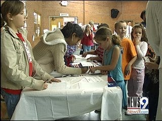 Students cast 'elementary' votes