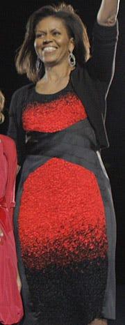 Michelle Obama's dress drama