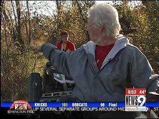 Teenager lifts 4-wheeler to save grandmother
