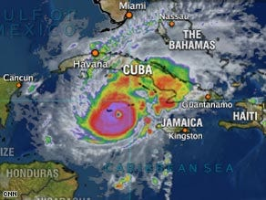Stronger Paloma hits Caymans on way to Cuba