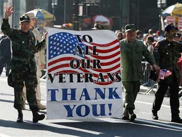 Celebrate and honor our military veterans