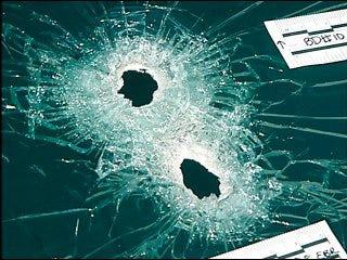 Man survives burglary shootout