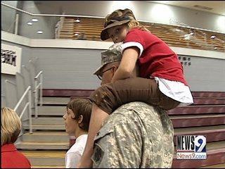 National Guard troops return to Oklahoma