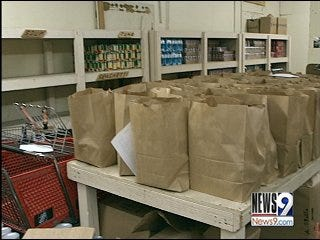 Local food pantries seeing more families